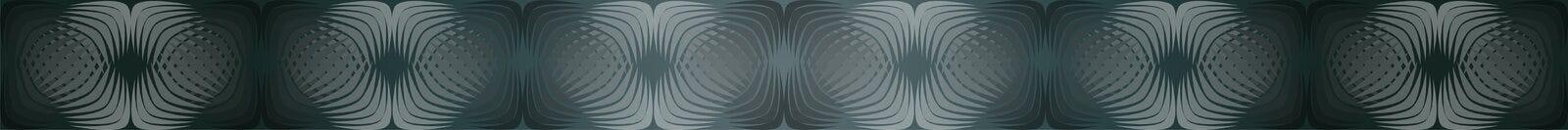 Geometrische patronen met gradiëntvulling 3 stock illustratie