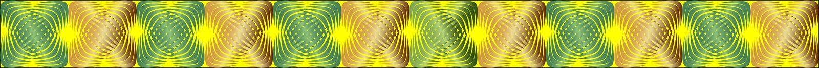Geometrische patronen met gradiëntvulling 4 stock illustratie