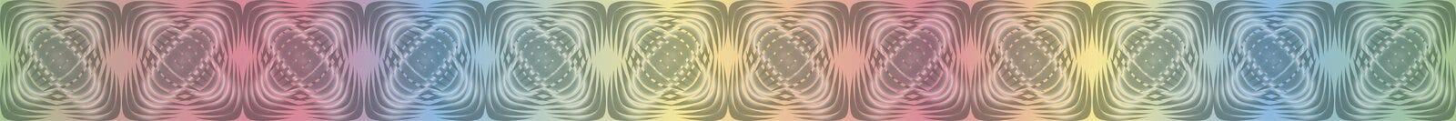 Geometrische patronen met gradiëntvulling 5 royalty-vrije illustratie
