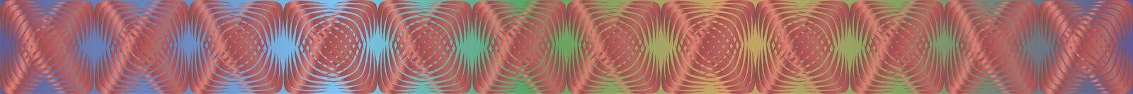 Geometrische patronen met gradiëntvulling 9 royalty-vrije illustratie