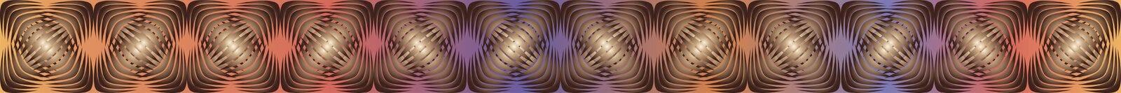 Geometrische patronen met gradiëntvulling 6 Royalty-vrije Stock Foto