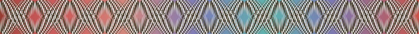 Geometrische patronen met gradiëntvulling 7 stock illustratie