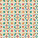 Geometrische patroon kleurrijke cirkels Royalty-vrije Stock Foto's