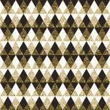 Geometrische patroon naadloze achtergrond Stock Afbeeldingen