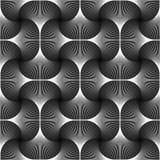 Geometrische patroon van de ontwerp het naadloze werveling stock illustratie