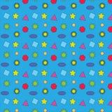Geometrische patroon vectorillustratie Stock Afbeeldingen