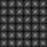 Geometrische patroon zwart-witte kleur Royalty-vrije Stock Foto's