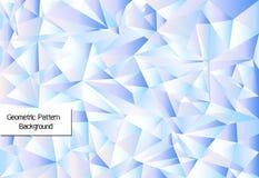 Geometrische patroonachtergrond vector illustratie