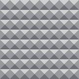 Geometrische patroonachtergrond met grijze kleur voor ontwerp of achtergronddoeleinden royalty-vrije illustratie