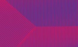 Geometrische purpere en blauwe achtergrond in in kleuren stock afbeeldingen