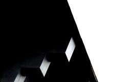 Geometrische quadratische Formen Minimalistic-Architektur beim Kontrastieren Lizenzfreie Stockfotografie