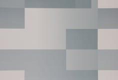 Geometrische rechthoekige schaduwen van grijs Stock Afbeeldingen
