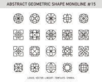 Geometrische reeks Stock Foto