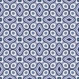 Geometrische Retro- Tapeten-nahtloses Muster Lizenzfreie Stockbilder