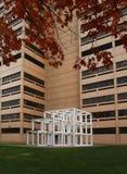 Geometrische Skulptur Ecorative Lizenzfreies Stockfoto