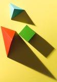 Geometrische Studie Lizenzfreies Stockfoto