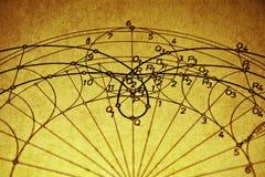 Geometrische tekening Royalty-vrije Stock Afbeeldingen