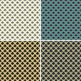 Geometrische textuur in aardetonen Stock Foto's