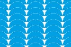Geometrische van patroongolven vector als achtergrond Royalty-vrije Stock Afbeeldingen