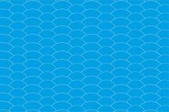 Geometrische van patroongolven vector als achtergrond Stock Foto