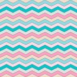 Geometrische veelkleurige chevron of zigzag naadloos patroon voor textiel en achtergronden royalty-vrije illustratie