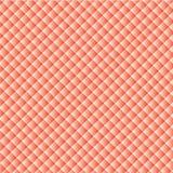 Geometrische Vektorbeschaffenheit: ein Hintergrund von den kleinen weiß-und-roten Quadraten diagonal vereinbart Lizenzfreie Stockbilder
