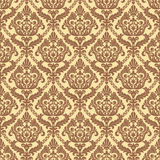Geometrische Verzierung auf einem alten Papier Lizenzfreies Stockfoto