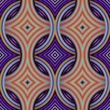 Retro Tapeten-nahtloses Muster Lizenzfreies Stockbild