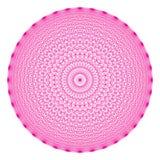 Geometrische Zahl von 36 Winkeln, alle Punkte verband sich untereinander lizenzfreie abbildung