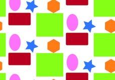 Geometrische Zahlen des Musters Stockbild