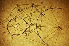 Geometrische Zeichnung Lizenzfreie Stockbilder