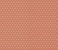 Geometrische Ziegelsteinverpackung des Musterdreiecks Lizenzfreie Stockbilder