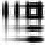 Geometrische zwart-witte textuur Netwerk, netpatroon van lijnen stock illustratie