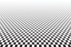 Geometrischer überprüfter Hintergrund Lizenzfreies Stockbild