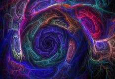 Geometrischer abstrakter Fractal Lizenzfreie Stockfotos
