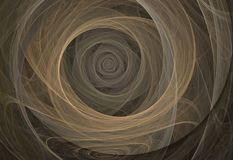 Geometrischer abstrakter Fractal Lizenzfreies Stockfoto
