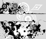 Geometrischer abstrakter Hintergrund Lizenzfreie Stockfotografie