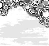 Geometrischer abstrakter Hintergrund Stockfoto