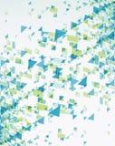 Geometrischer abstrakter Hintergrund. stock abbildung
