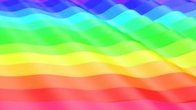 geometrischer abstrakter Hintergrund 3d lizenzfreie stockfotos