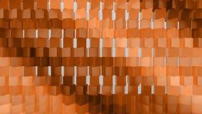 geometrischer abstrakter Hintergrund 3d stock video