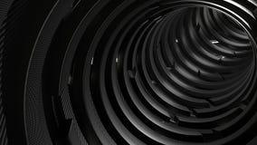 geometrischer abstrakter Hintergrund 3d stock abbildung