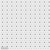 Geometrischer abstrakter Hintergrund mit verbundener Linie und Dots Patterns Stockfotos