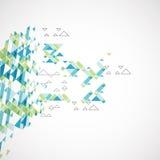 Geometrischer abstrakter Hintergrund Vektor Stockbilder