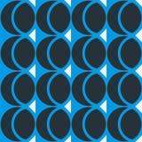 Geometrischer abstrakter nahtloser Musterhintergrund Bunte Formen Lizenzfreies Stockbild