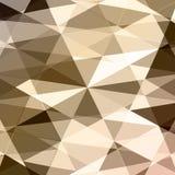 Geometrischer abstrakter Vektorhintergrund Lizenzfreie Stockbilder