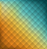 Geometrischer Abstraktionshintergrund der Illustration mit Quadraten Lizenzfreie Stockbilder