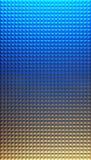 Geometrischer dreieckiger abstrakter moderner Hintergrund Stockfotografie