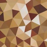 Geometrischer Dreieckmosaikhintergrund Stockfotos