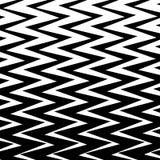 Geometrischer einfacher Zickzack-Druck, Wellen-Muster lizenzfreie abbildung